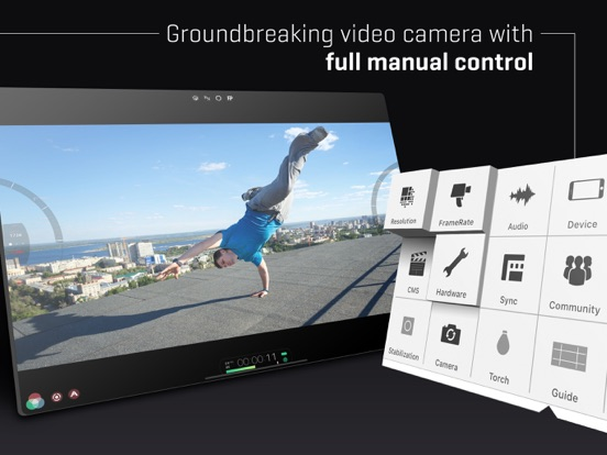 FiLMiC Pro-Video Camera IPA Cracked for iOS Free Download