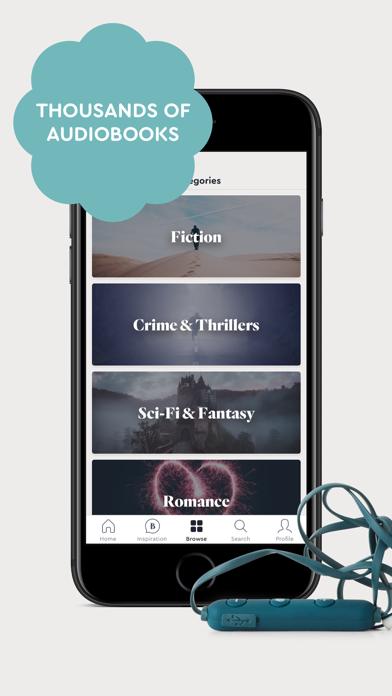 BookBeat Audiobooks & E-books screenshot three