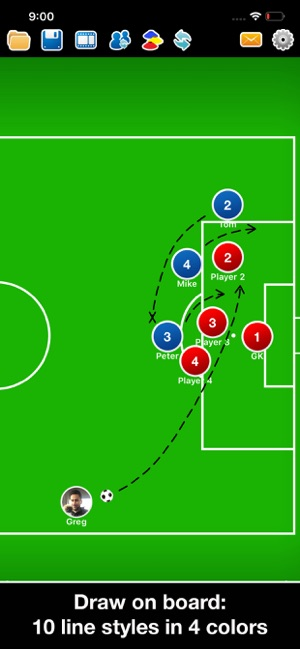 Coach Tactic Board: Soccer on the App Store