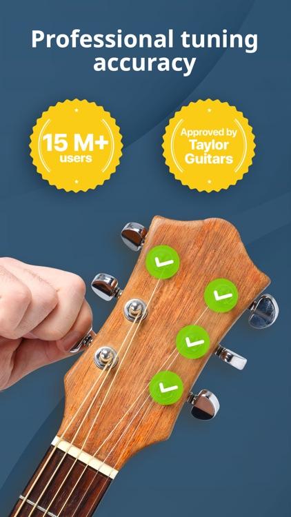 Guitar Tuner - Ukulele & Bass screenshot-0