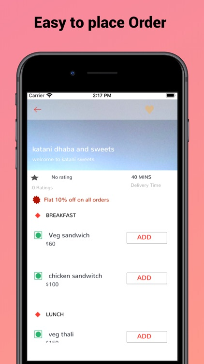 AppsRhino food Delivery screenshot-3