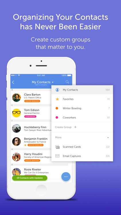 CircleBack - Updated Contacts screenshot-3