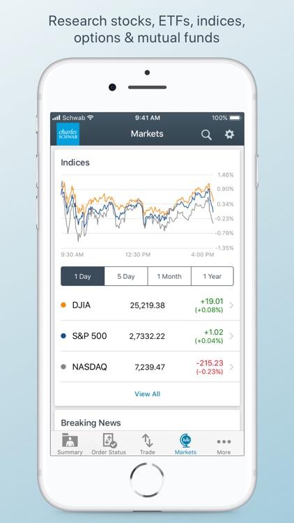 Schwab Mobile screenshot-3