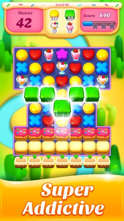 Cookie Amazing Crush screenshot-3