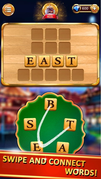 Word Cities, Words Games screenshot-0