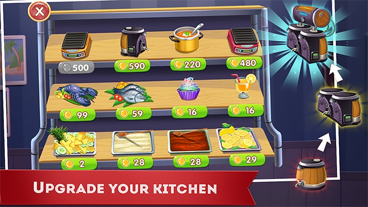 Cooking Funny Chef screenshot-3