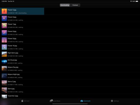 FAir for FlashAir Screenshots