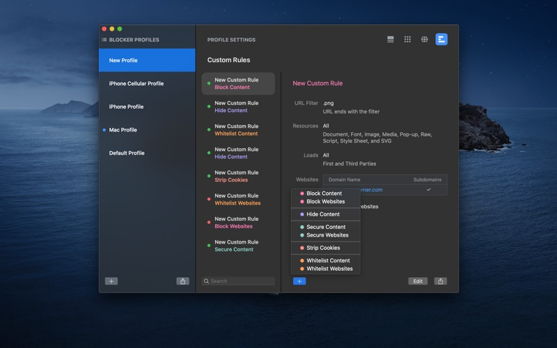 Roadblock - Content Blocker for Mac