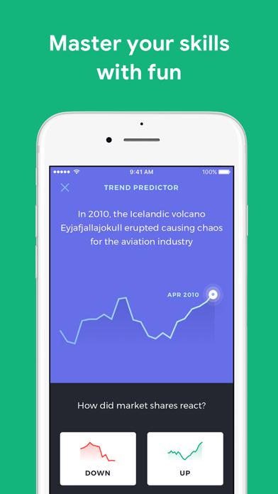 Investmate — learn to trade Screenshot on iOS