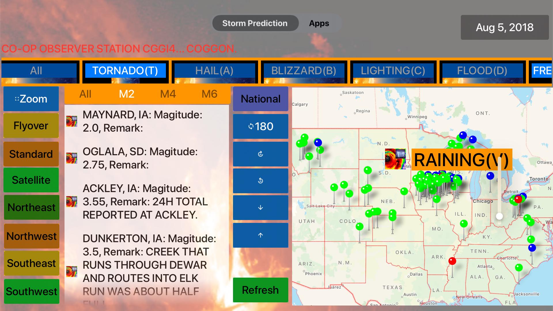 Instant NOAA Storm Pro screenshot 17