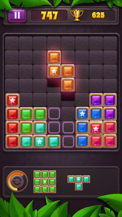 Block Puzzle: Star Gem screenshot 1