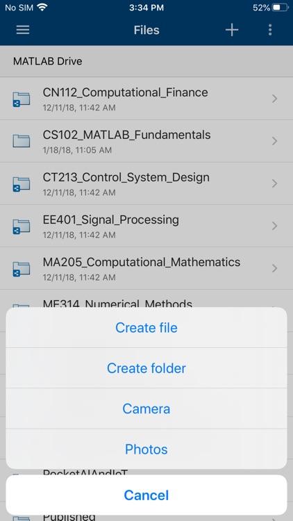 MATLAB Mobile screenshot-4
