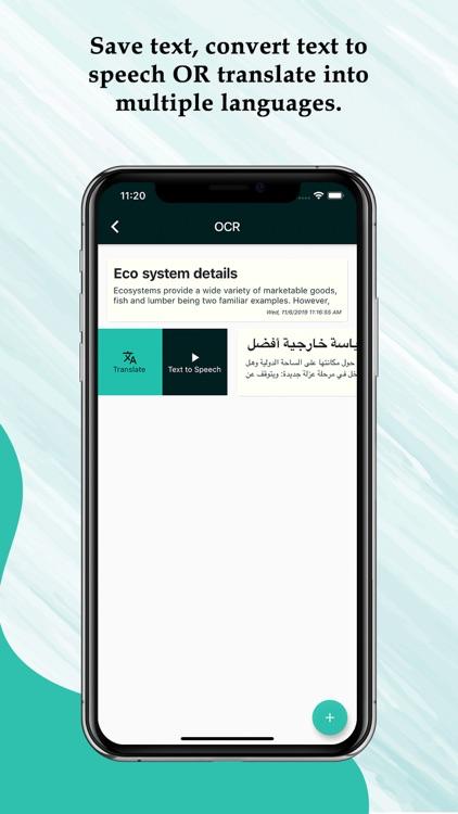 Image Scan OCR TTS Translator screenshot-4