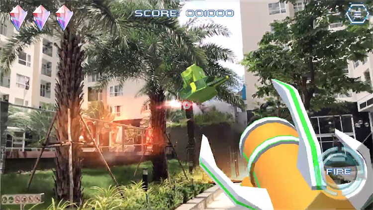 AR Galaxy Fight screenshot-3