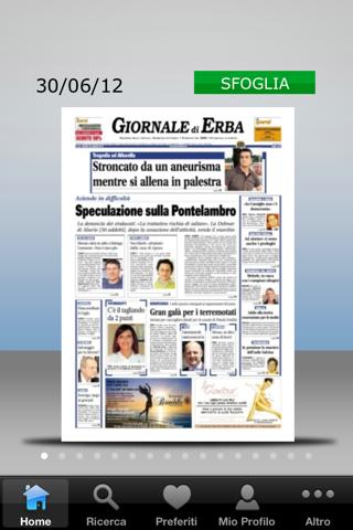 Il Giornale di Erba Digitale - náhled
