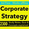 点击获取Corporate Strategy Exam Review