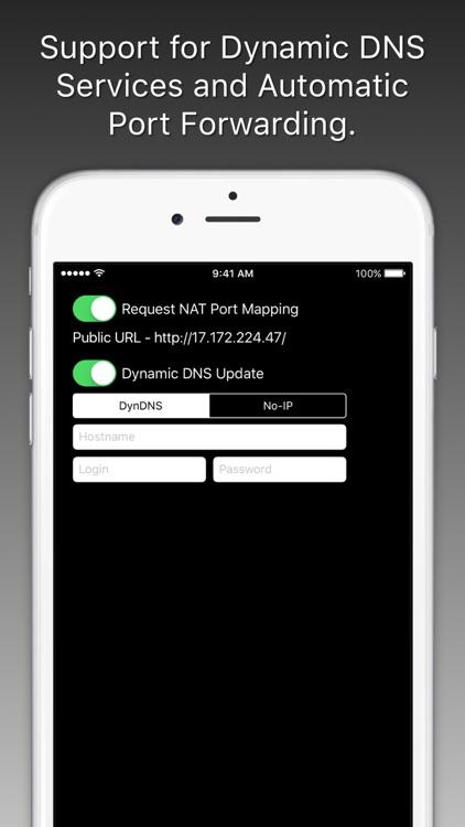 ipCam - Mobile IP Camera screenshot-3