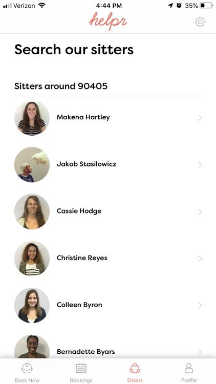 Helpr - On-Demand Childcare screenshot-4