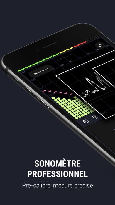 Screenshot #1 pour Décibel X - dB Sonomètre