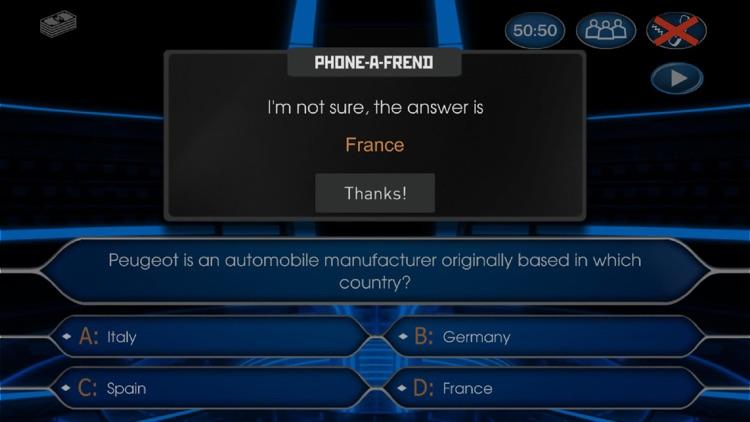 Millionaire 2020 Trivia Quiz screenshot-4
