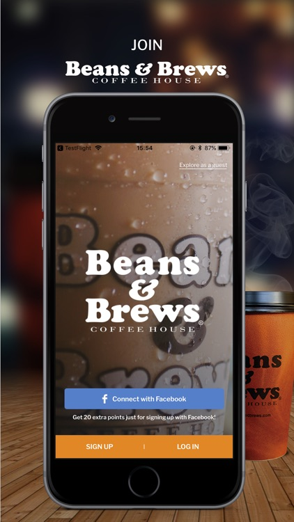Beans & Brews screenshot-0