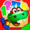 恐龙蒂姆:学习形状和颜色的游戏