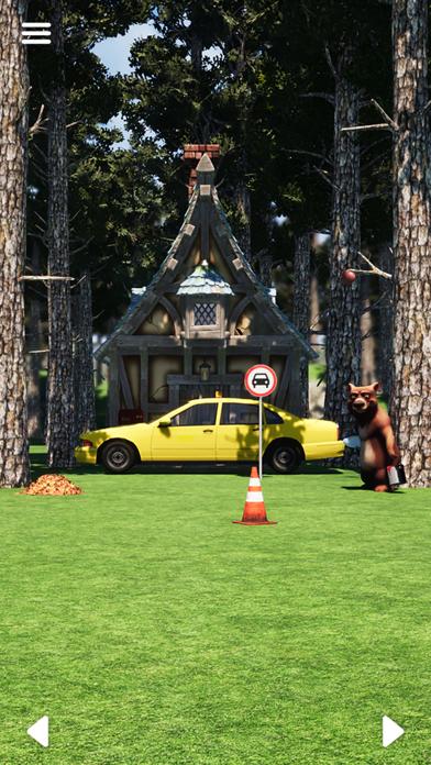 脱出ゲーム 赤ずきん screenshot1