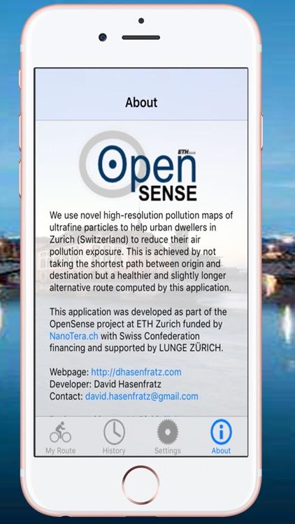 Health Route Guide - Zurich screenshot-4