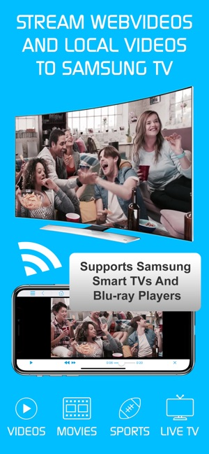 Stream media from iphone to smart tv