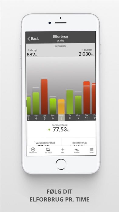 Screenshot for Watts - Energiassistent in Denmark App Store