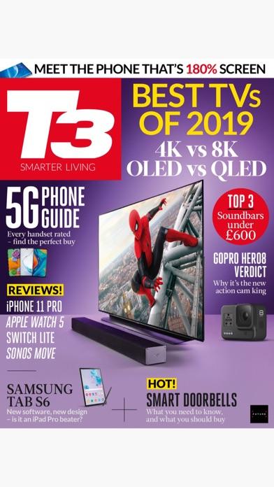 T3 Magazine review screenshots
