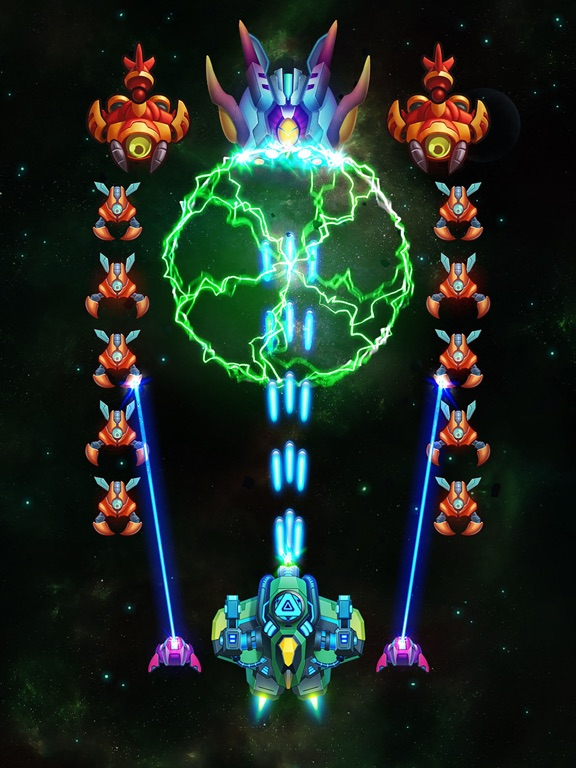 Galaxy Invaders: Alien Shooterのおすすめ画像5