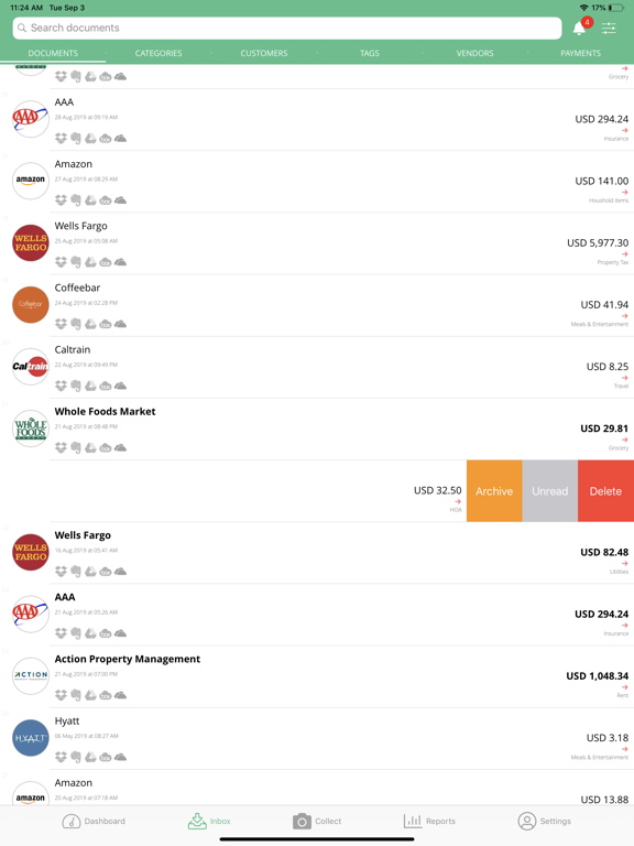 IQBoxy - Receipts Tracker, Expense Reports for QBO screenshot