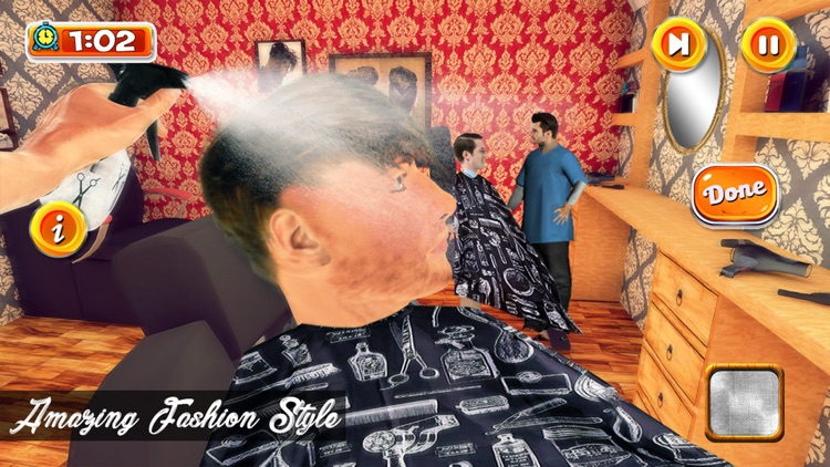 Barber Shop Hair Cut Simulator screenshot-3
