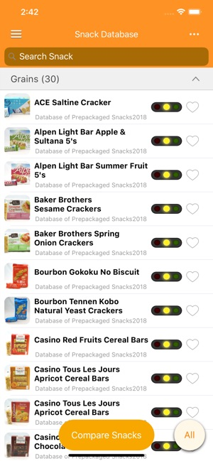 Snack Check on the App Store