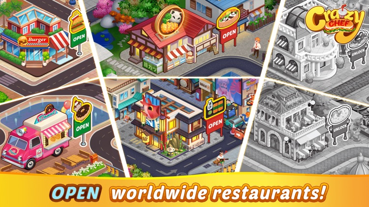 Crazy Chef Cooking Games screenshot-3