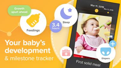Screenshot #1 pour Glow Baby: Baby & Toddler Log