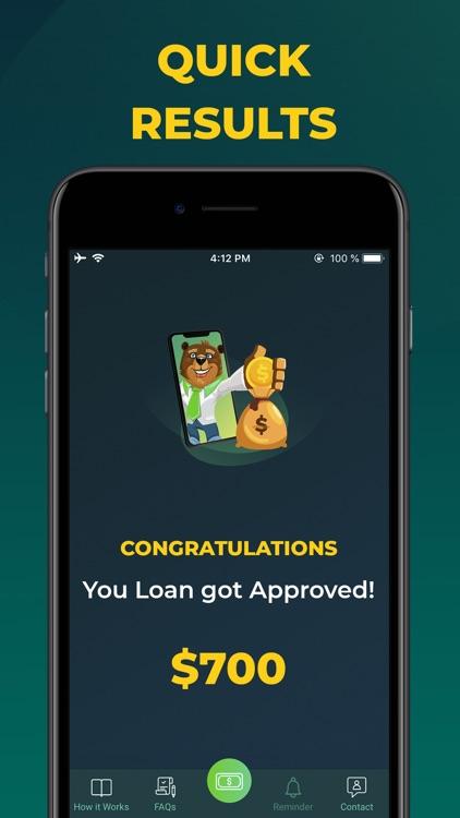 Cash Advance – TSAIP Loan App screenshot-5
