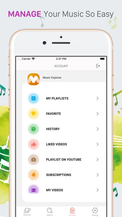iMusi - Music Streamer & EQ screenshot-3