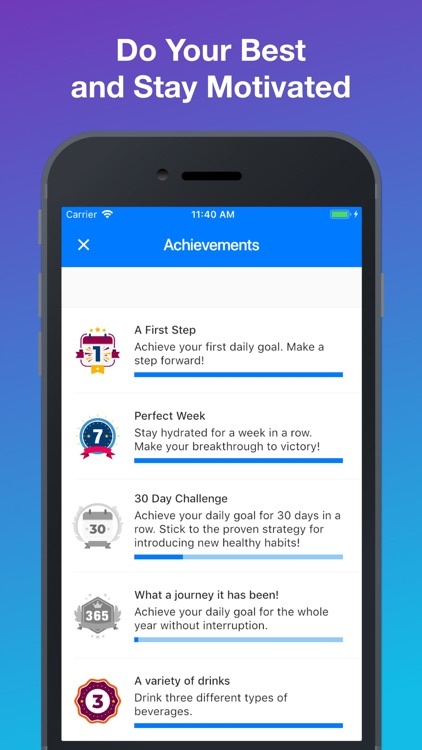 Daily Water Tracker & Reminder screenshot-3