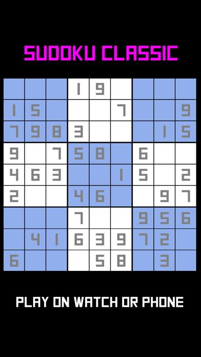 Sudoku Classic : Watch & Phone screenshot 1