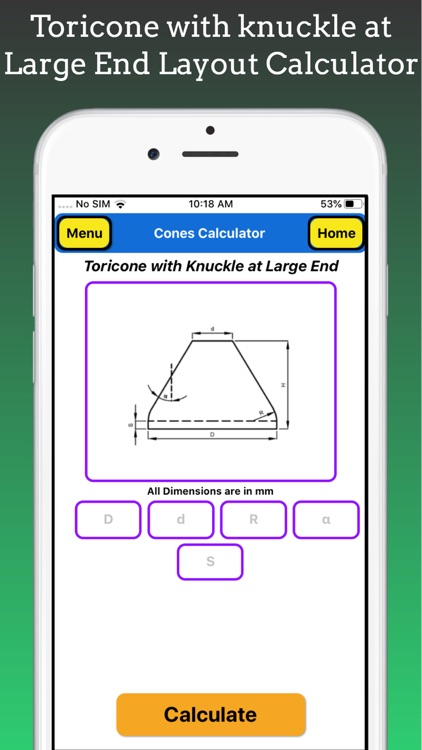 Cones Calculator Pro screenshot-8