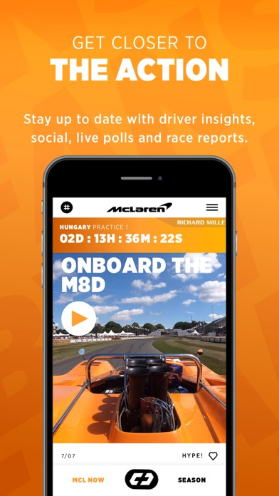 McLaren Racing screenshot two