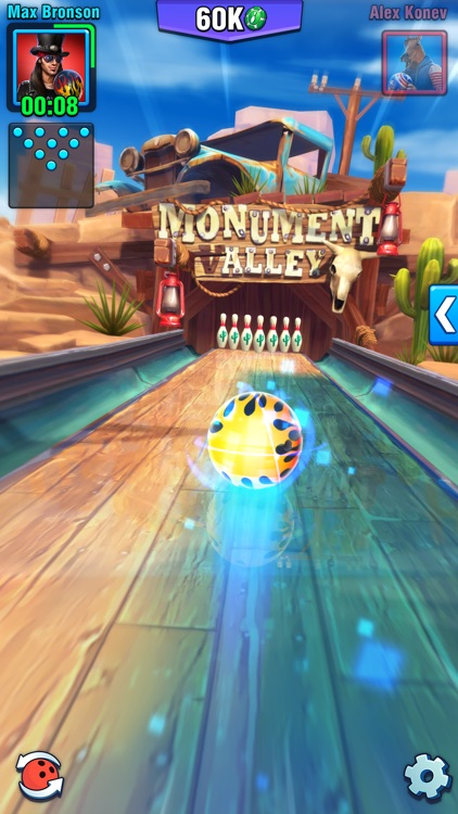 Bowling Crew - 3D bowling game screenshot-0