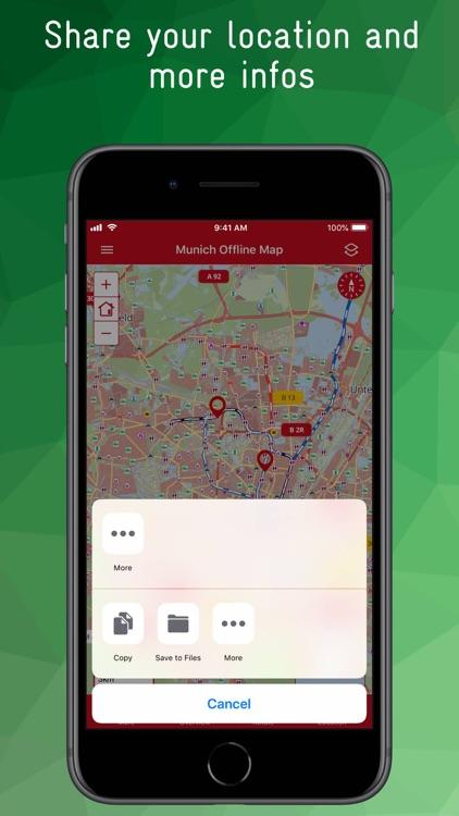 Munich Offline Map screenshot-9