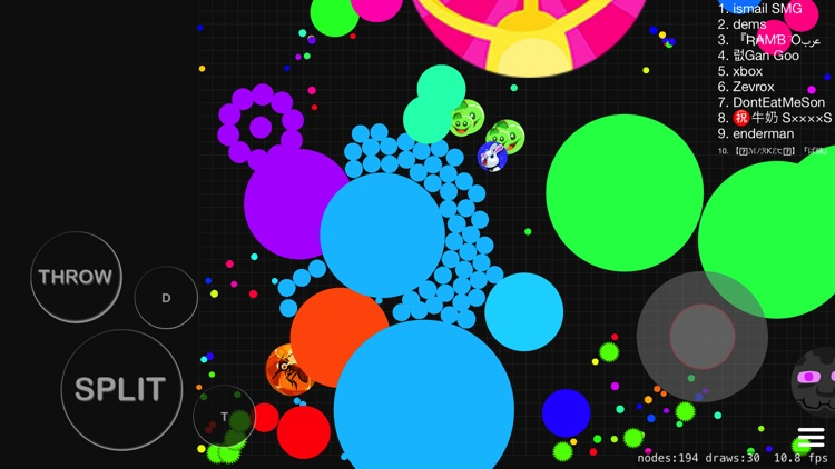 Blob io - Throw & split cells screenshot-8