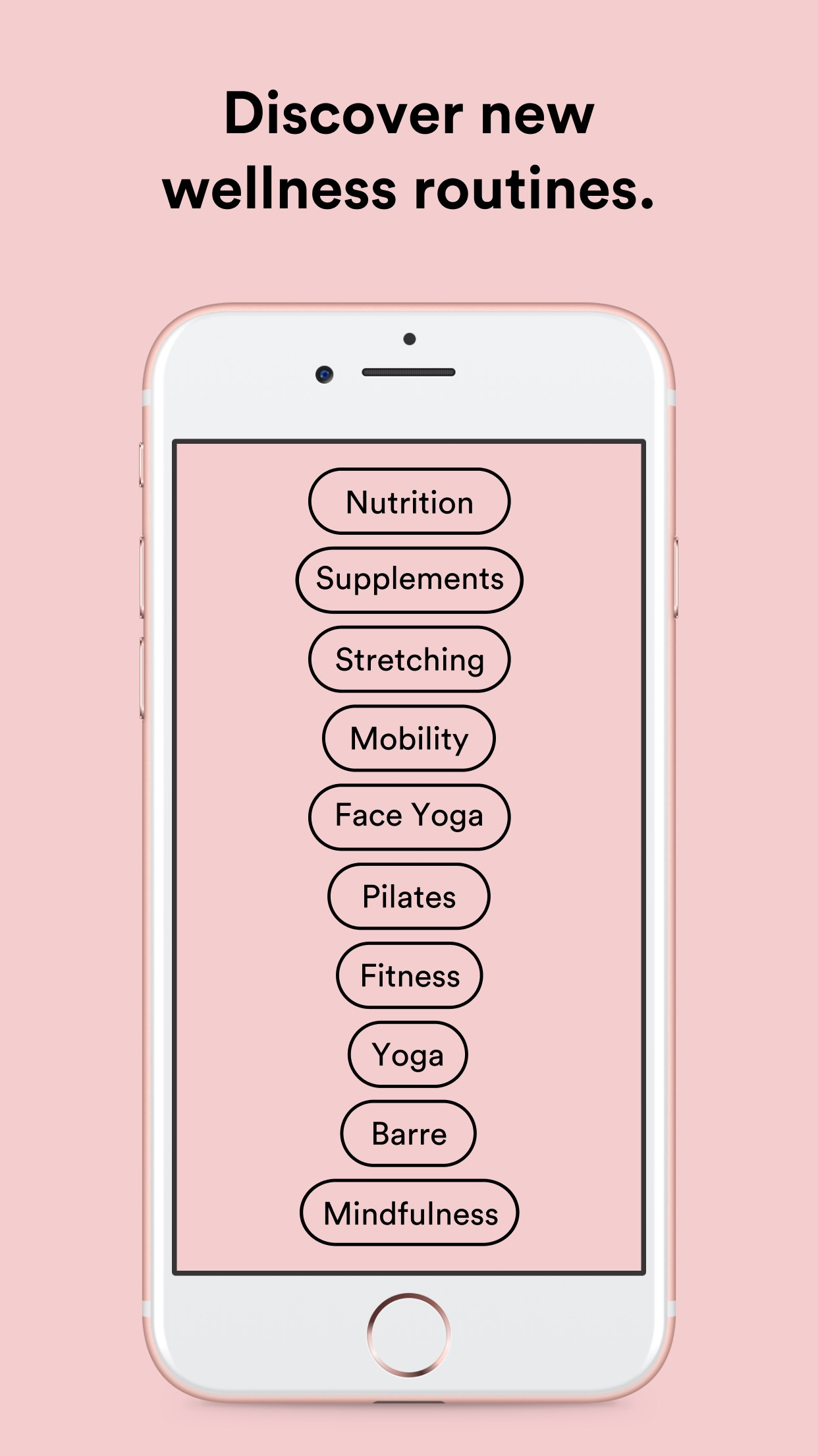Bellabeat Wellness Coach Screenshot