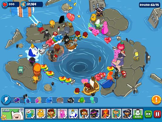 Bloons Adventure Time TD iPad app afbeelding 2