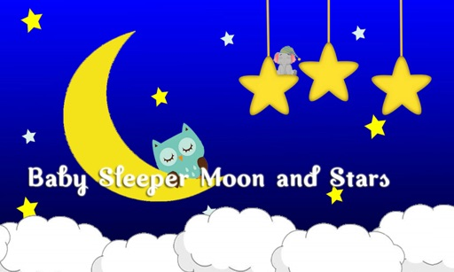 Baby Sleeper Moon and Stars