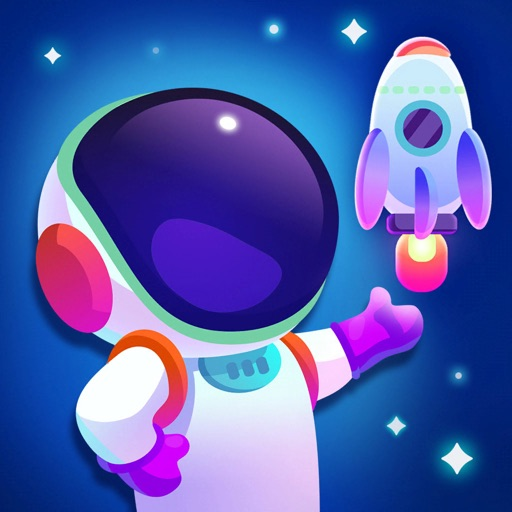 Land It! Cosmic Clicker Game
